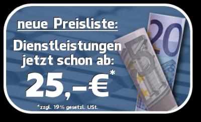 25€ Angebot
